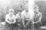 Женя Манахов, Рома Байбиков, плаврук Спирин, Паша Скребнев