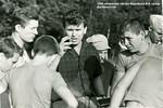 1966 начальник лагеря Воробьев В.А. среди футболистов